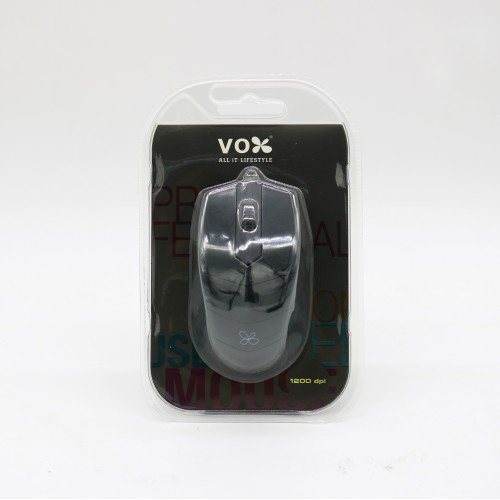 Vox USB Wired Mouse M10 Black