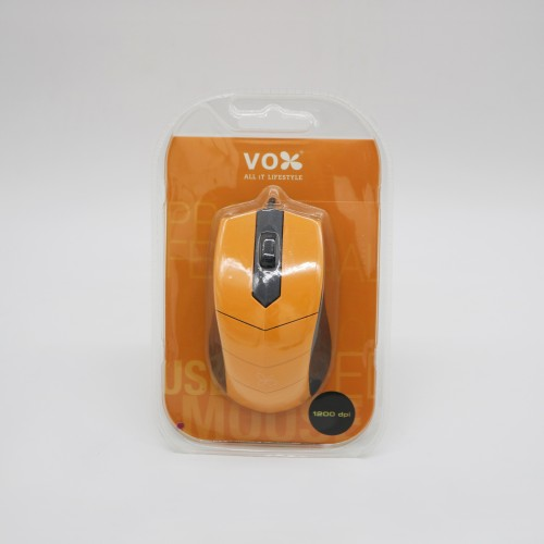 Vox USB Wired Mouse M10 Orange