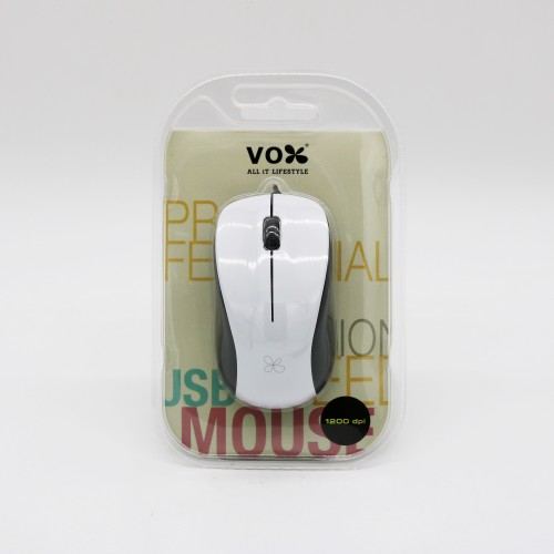 Vox USB Wired Mouse M11 White