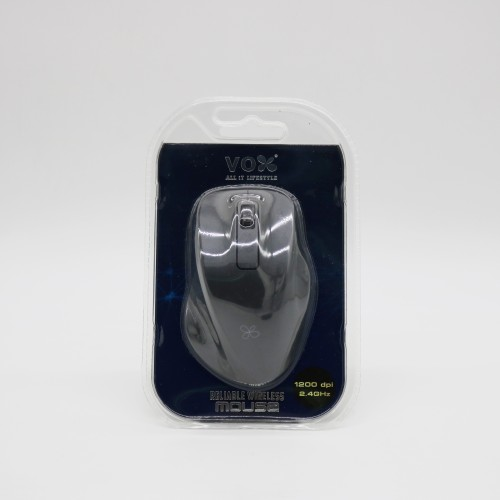 Vox 2.4GHz Wireless Optical Mouse W10 Black