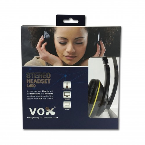 Vox Stereo Headset L400 Black/Yellow